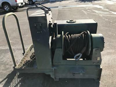 DP Manufacturing 45,000 lb Two Speed Hydraulic Military Winch 45BBX1L1E-007
