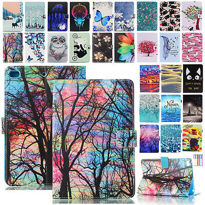 iPad 9.7 2018 iPad 6th Gen Air Mini Smart Leather Flip Stand Case Magnetic Cover