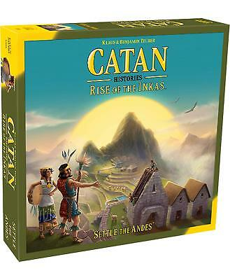 Catan Histories: Rise of The Inkas Board Game - Brand New!