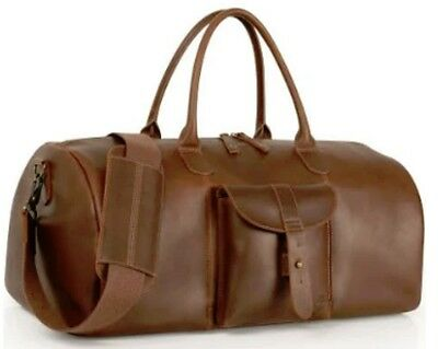 TIMBERLAND CALEXICO DUFFLE Duffel Bag Leather Brown New NWT