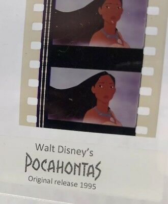 Disney POCAHONTAS Authentic Animation Film 5-Cells Strip DISNEY PRINCESS
