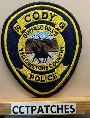 Cody, Wyoming Police Shoulder Patch Wy
