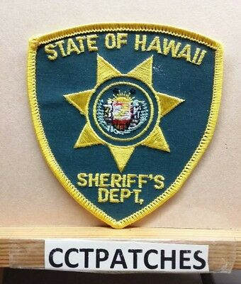 Hawaii Sheriff Department (Police) (Small) Shoulder Patch