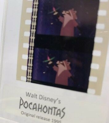 Disney POCAHONTAS Authentic Animation Film 5-Cells Strip MEEKO THE RACOON