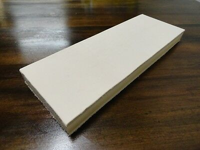 """Leather Strop Double Sided 3.5""""X 10' Sharpen Knives Razors Hand Made In G.A."""