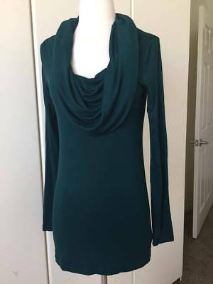 A Pea in the Pod Maternity Long Sleeve Cowl Neck blouse Sz S