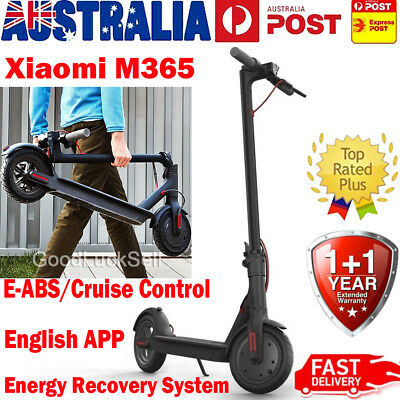 Xiaomi Mi M365 Electric Scooter Adjustable and Foldable for Adults Kids Black AU