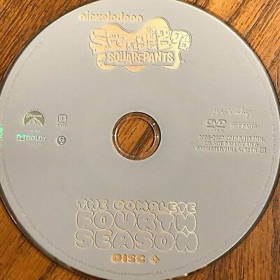 Spongebob Squarepants Season 4( DVD) REPLACEMENT DISC #4