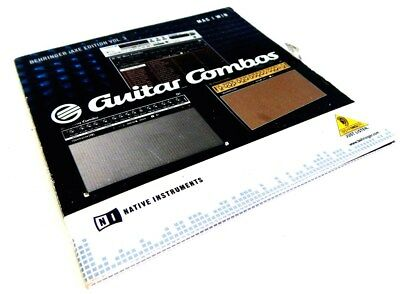 SOFTWARE CD Native Instruments NI Guitar Combo Cd in Case with key
