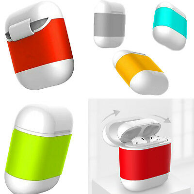 QI Wireless hard Charging Case Charger Protector shell for Apple AirPods Earbuds
