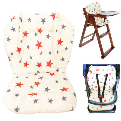 Baby Stroller/High Chair Seat Cushion Cover Breathable (Star)