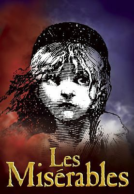 Les Miserables Musical Cool Art Silk Poster 8x12 24x36 24x43