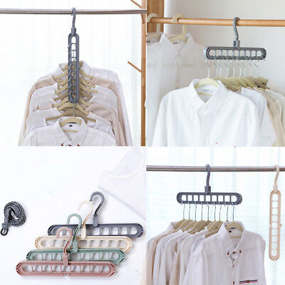 NEW Multi-function Magic Hangers Clothes Rack Home Organizer Space Saver
