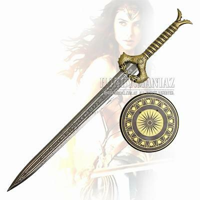 Wonder Woman Sword Replica with Plaque