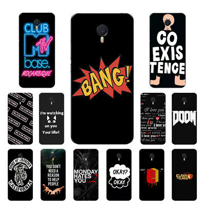 Soft TPU For Meizu M1 M2 M3 M5 M6 Note Case Ultra Thin Silicone Back Cover New