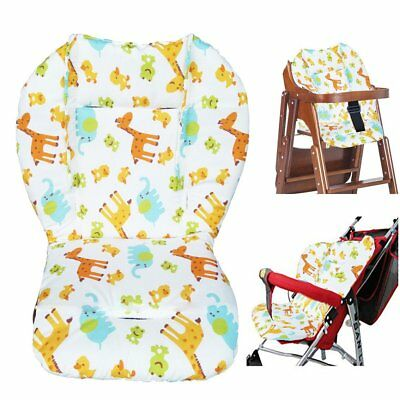 Baby Stroller/High Chair Seat Cushion Cover Breathable (Zoo)