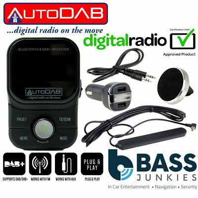 Bluetooth AUX Plug & Play Car Streaming FM Transmitter For A Toyota Highlander