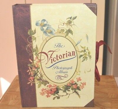 Vintage 1990's The Victorian Photo Photograph Album Hardcover Book 1995