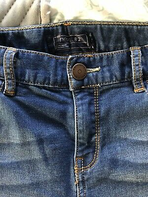 Boys NEXT Soft Stretch Skinny Jeans Age 9 Excellent Condition