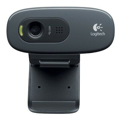 Logitech HD Webcam C270 Webcam HD with built-in miniphone  compatible Skype N4S3