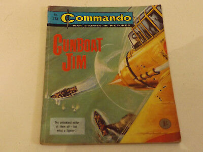 Commando War Comic Number 213 !!,1966 Issue,v Good For Age,52 Years Old,v Rare.