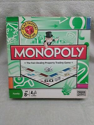 "Hasbro  ""Monopoly""  The Fast Dealing Property Trading Game (2008)"