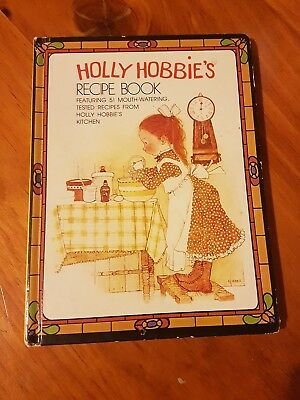 VINTAGE HOLLY HOBBIE RECIPE BOOK John Sands