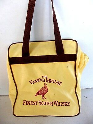 The  Famous Grouse  Finest  Scotch  Whiskey  Plastic  Carry  Bag