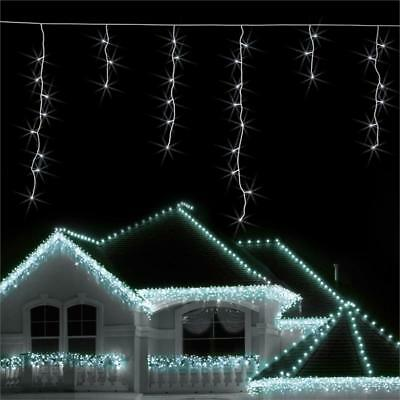 Blumfeldt Christmas String Light Set 8 M 160 Led Cold White Snow Motion