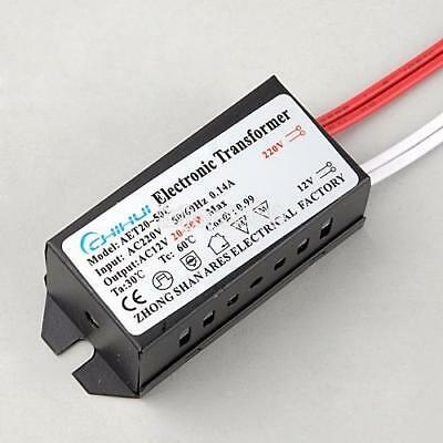 New 20-50W AC 220V to 12V 0.14A LED Power Supply Driver Electronic IS 01