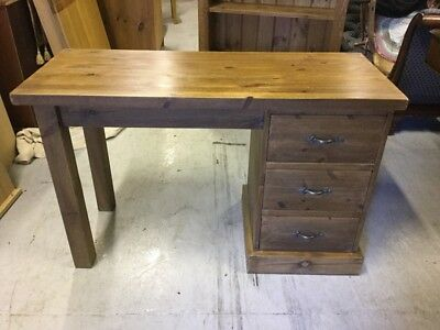 Rustic country Waxed Pine Desk
