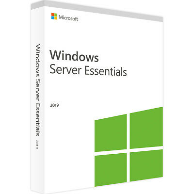 Windows Server 2019 Essentials - Neu & Original - Vollversion - ESD
