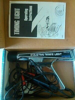 Inductive Timing Light Model 4138 Auto Tune Clean, tested works