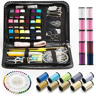 Sewing Kit - 134 Pcs Portable Kits For Adults Or DIY To Mending And Repair.by