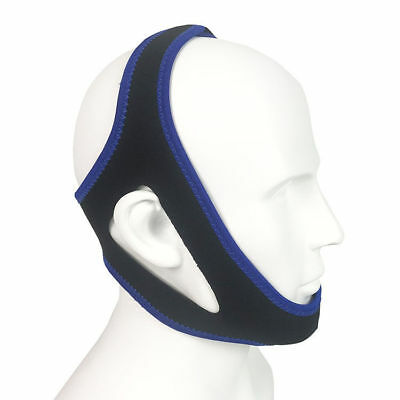 Adjustable Snore Stopper Belt Anti Snoring Chin Straps Device for Women & Men