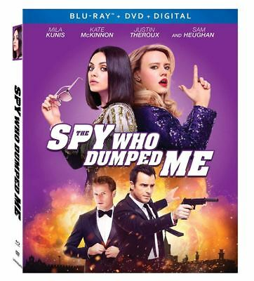 The Spy Who Dumpled Me Blu-ray/DVD Digital 2018 Mila Kunis Kate McKinnon NEW