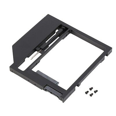 2nd HDD Caddy Hard Drive Disk SATA Case with Screwdriver For Laptop PC #HPSG