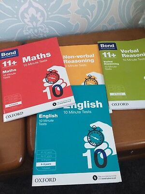bond 11 plus books 8-9 Years