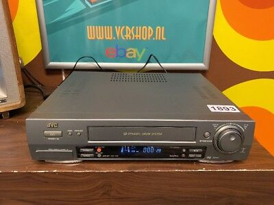 JVC HR-DD858 VHS Recorder 3R Picture & Dynamic Drum