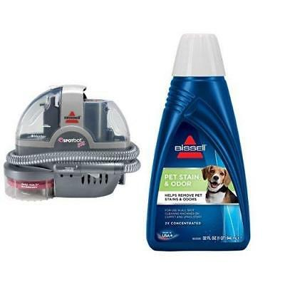 Pet Stain Remover Bundle - SpotBot Spot and Cleaner + Bissell 2x Odor...