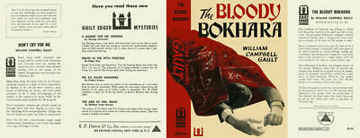 William Campbell Gault BLOODY BOKHARA / 1952 1st US Facsimile DJ