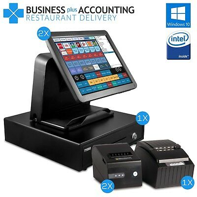 BPA Elite Restaurant POS & Delivery System 2 Stations