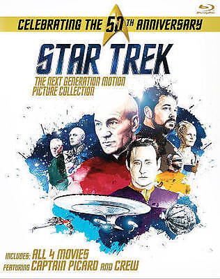 Star Trek The Next Generation  Motion Picture Collection Blu-ray Disc 2016