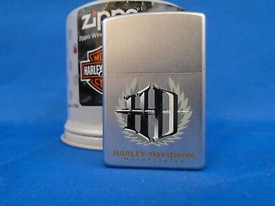 Zippo Lighter - Harley Davidson - H-D In Flames - Oil Filter Can - 205HD H315