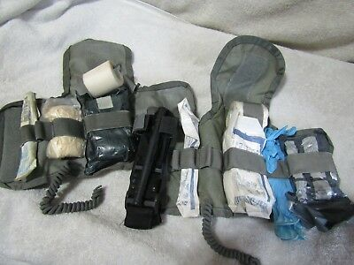2 Well Used 1st Aid Kit Inserts