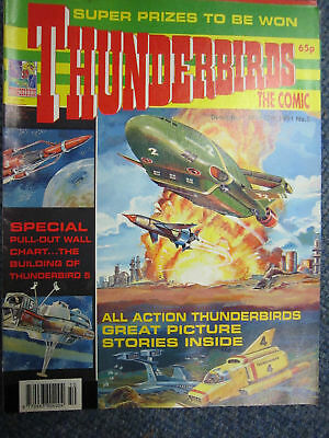 Thunderbirds Fleetway # 5 Gerry Anderson Stingray TB5 pullout
