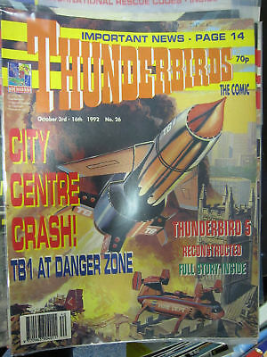 Thunderbirds Fleetway # 26 Gerry Anderson Stingray TB5 pullout