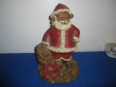 Thomas Clark Santa Gnome 1982 #54 Hand Signed With Coin