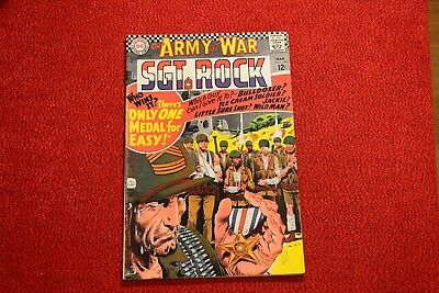 """A Steal!!  Our Army at War - #178 - 1967 """"One Medal for Easy""""!!"""