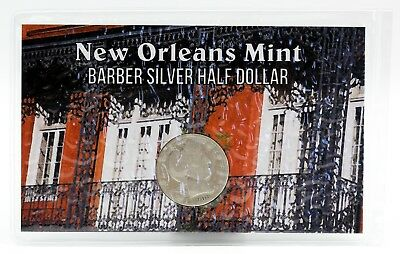 1908-O New Orleans Mint Barber Silver Half Dollar